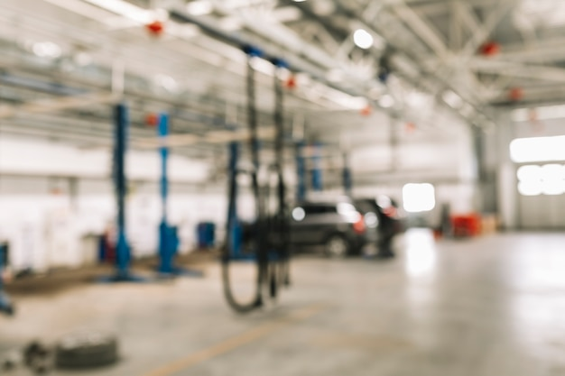 Car workshop background Free Photo