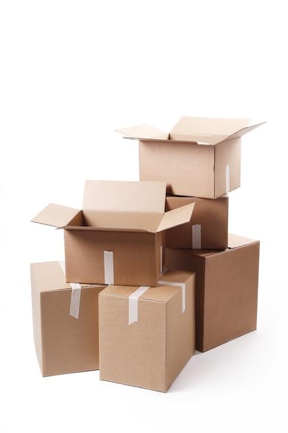 Cardboard boxes Free Photo