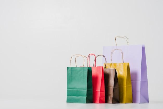 Cardboard shopping bags Premium Photo