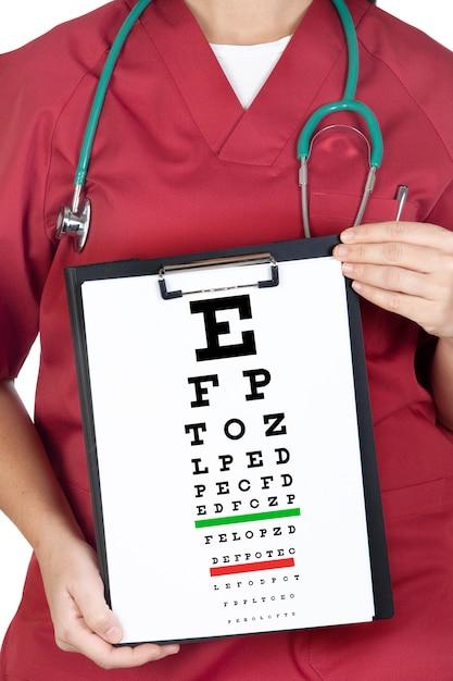 Care your eyes Premium Photo