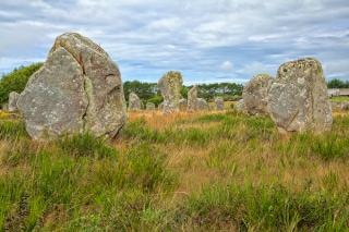 Carnac stones   hdr  mystical Free Photo