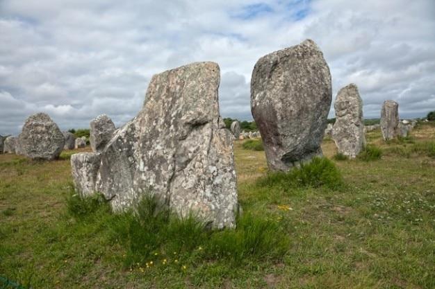 Carnac stones   hdr Free Photo