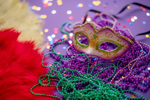 Carnival. mardi gras. brazilian carnival. spring Premium Photo