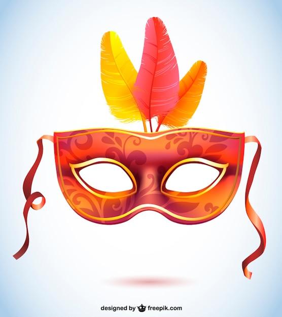 Carnival Silhouette Vector Carnival Vector Mask Fashion