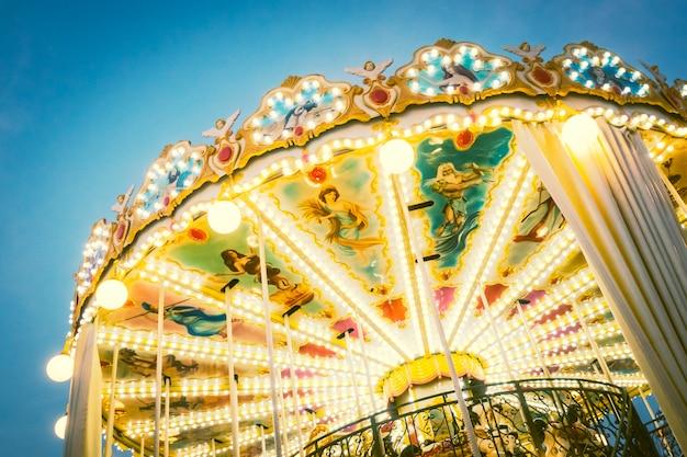 Carousel horse Free Photo