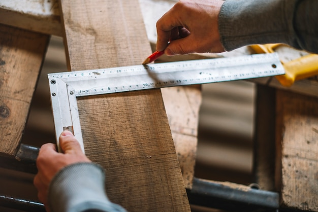 Carpenter working Free Photo