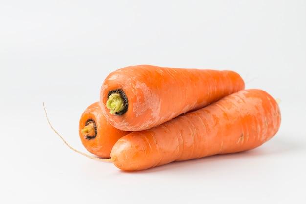 Carrots ready to eat Free Photo