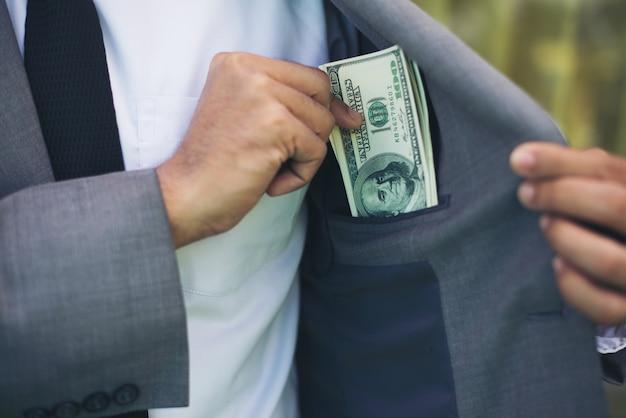 Cash money notes man wealth Free Photo