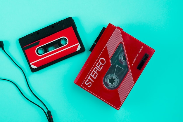Cassette player Free Photo