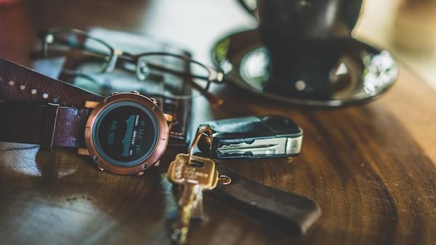Casual men lifestyle accessories Premium Photo