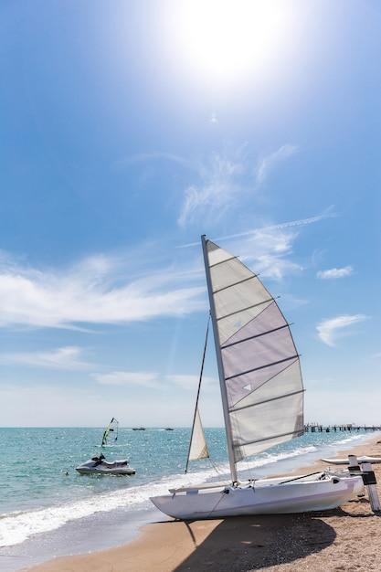 Catamaran Premium Photo