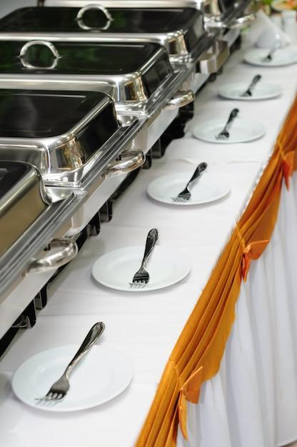 Catering wedding Premium Photo