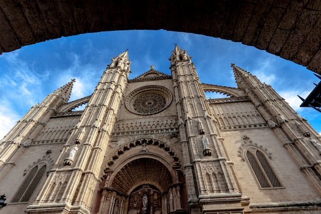 Cathedral la seu palma de mallorca Premium Photo
