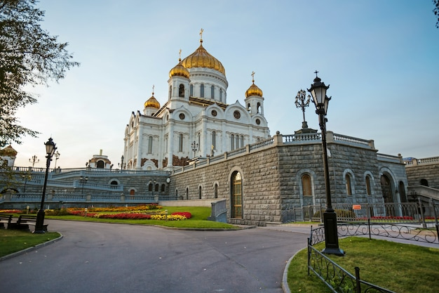 Cathedral in moscow, russia Premium Photo