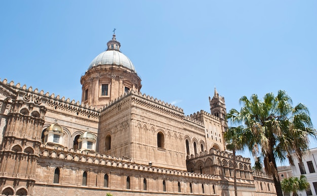 Cathedral of palermo Premium Photo