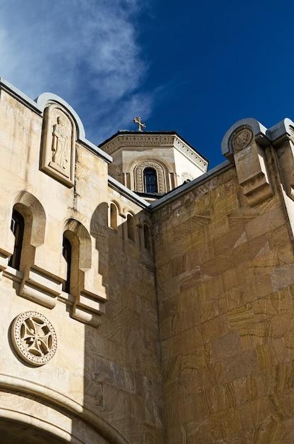 中世建築の鮫場大聖堂の詳細 Premium写真