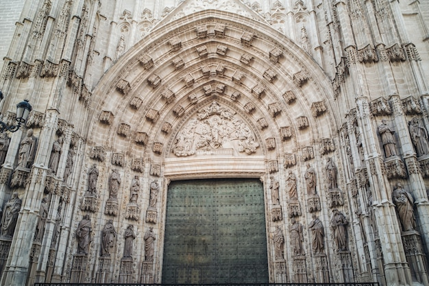 Cathedral of seville, andalusia Premium Photo