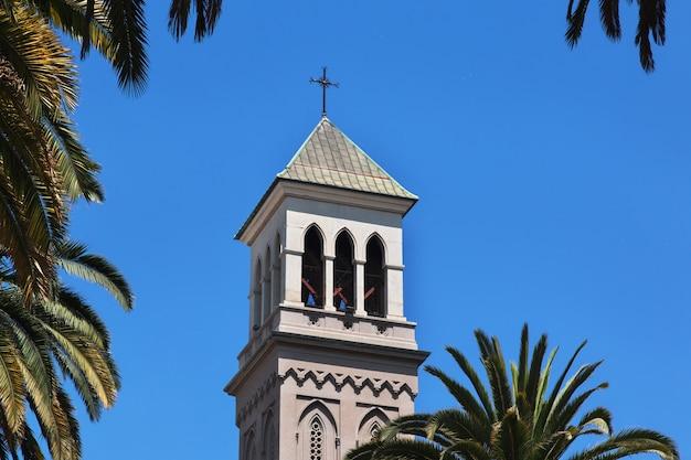 Cathedral in valparaiso, pacific coast, chile Premium Photo