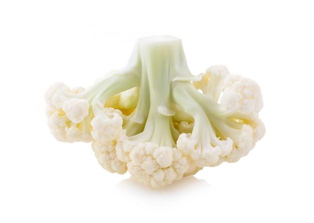 Cauliflower isolated Premium Photo