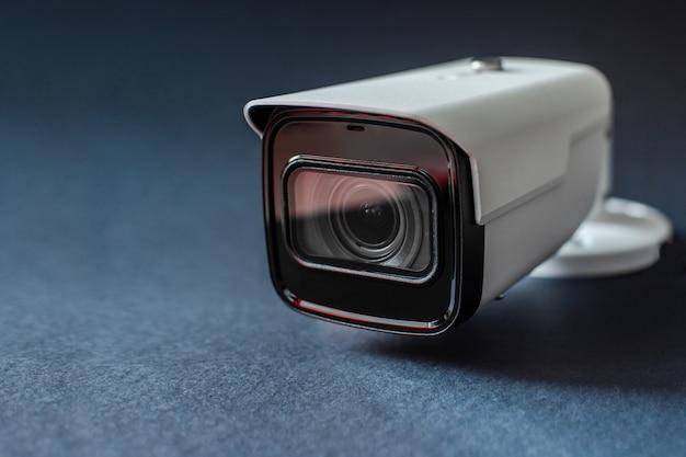 Cctv camera. security system. Premium Photo