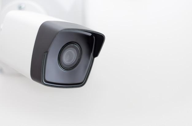 Cctv camera video security Premium Photo