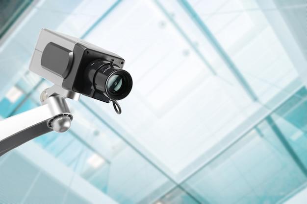 オフィスビルのセキュリティcctvカメラ Premium写真