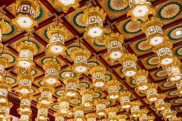 Ceiling of temple Free Photo