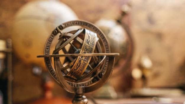 Celestial sphere sundial zodiac sign Premium Photo
