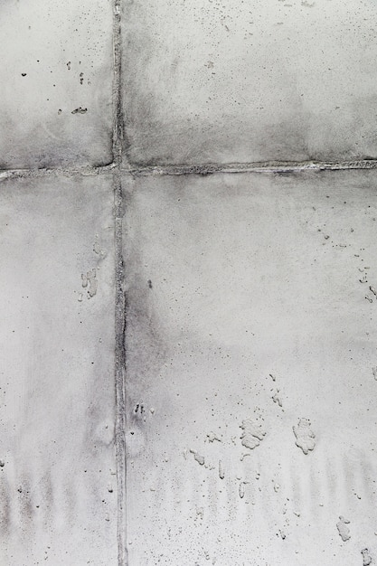 Cement wall surface with joint Free Photo