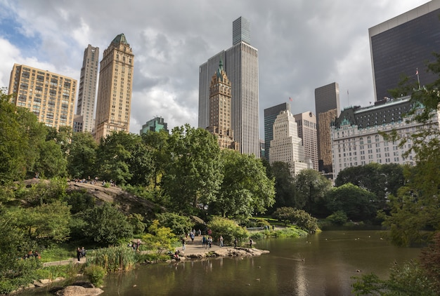 Central park in nyc Premium Photo