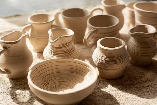 Керамические кувшины и глиняная посуда Бесплатные Фотографии