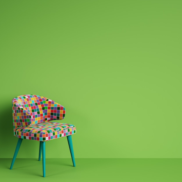 pop art bedroom decor online information.htm chair in colorful pop art style on green wall with copy space  chair in colorful pop art style on