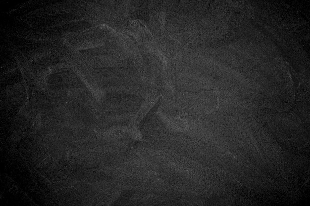 Chalk rubbed out on blackboard Premium Photo