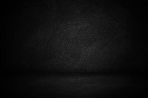 Chalkboard and blackboard, dark wall studio background Premium Photo