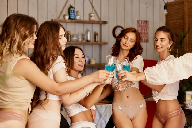 Champagne And Panties Party