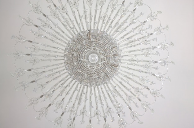 Chandelier in the style of art nouveau Premium Photo