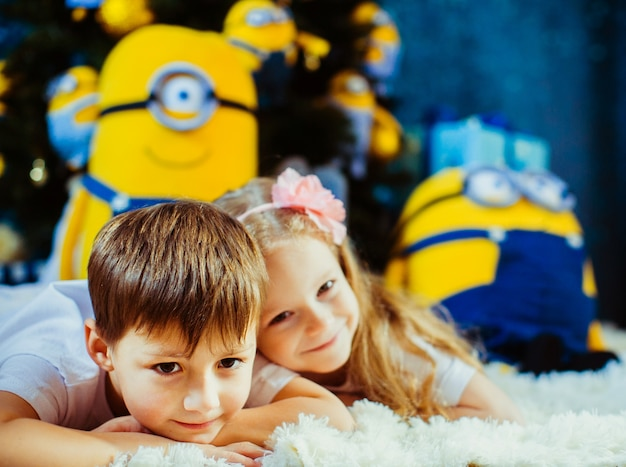 Charming lovely colorful fun bright Premium Photo