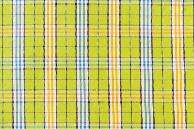 Check fabric texture pixel seamless pattern Free Photo