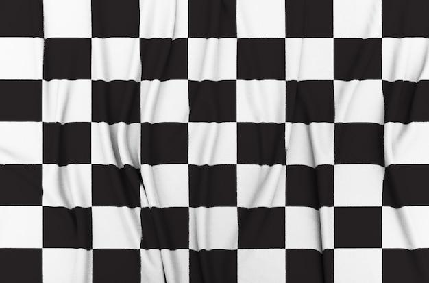 Checkered race flag Premium Photo