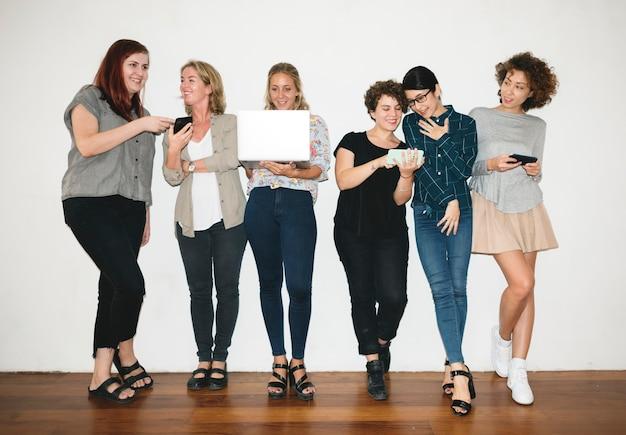 A cheerful fashion designers team Free Photo