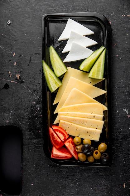 Выбор сыра сверху Бесплатные Фотографии