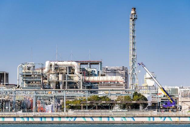 Chemical factory plant Premium Photo