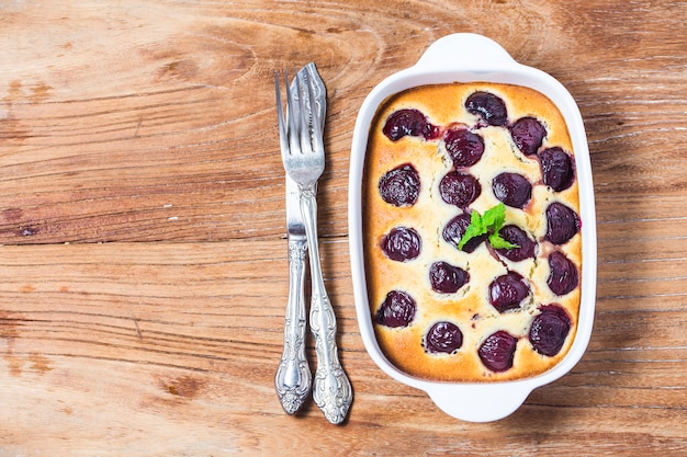 Cherry Clafoutis Free Photo