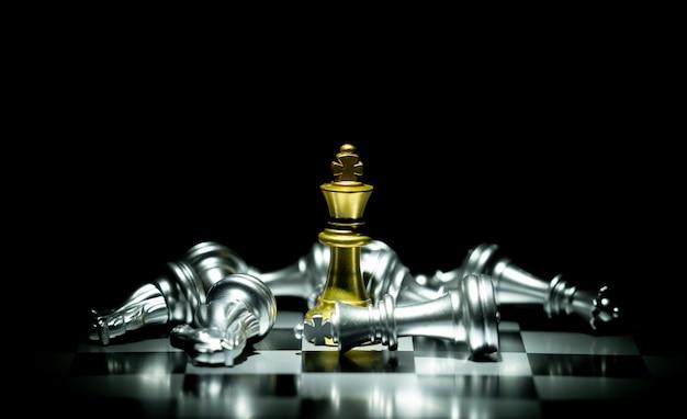 Chess board game Premium Photo