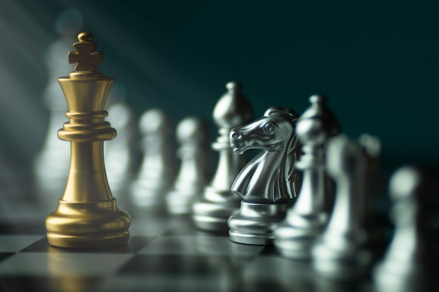 Chess competition Premium Photo