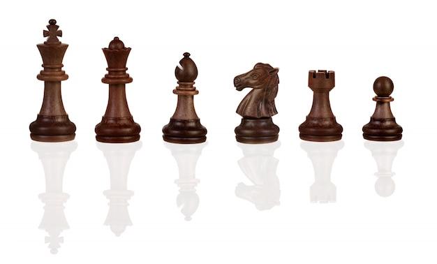Chess figures Premium Photo