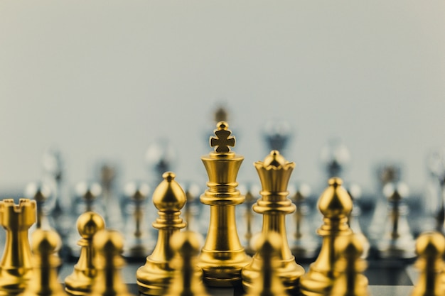 Chess game Premium Photo