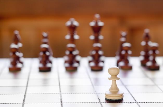 チェス盤のチェス Premium写真
