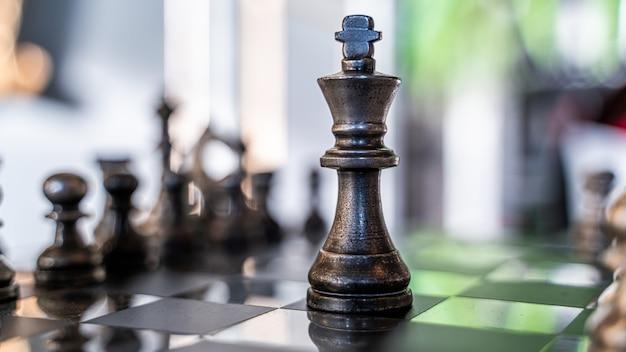 Chess winning game Premium Photo