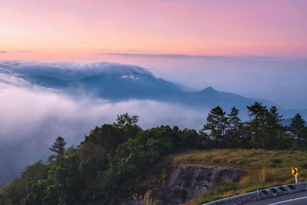 치앙마이 여행 자연 사진 사진 아름다운 지방의 랜드 마크, 프리미엄 사진